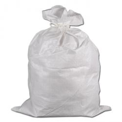 PP-Bändchen-Gewebesack - Polypropylen - 70 cm x 110 cm - Farbe weiß