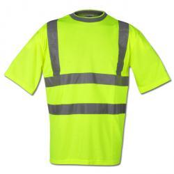 """Varsel T-shirt """"REINER"""" - gul - Safestyle - EN 471/2"""