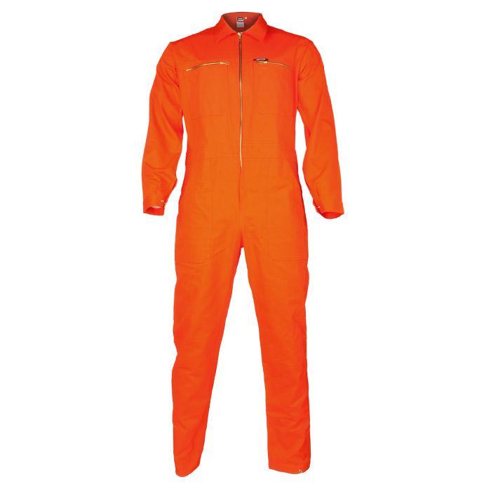 """Rallyoverall - orange - 100% bomull - 290 g/m² - """"HOCKENHEIM"""""""