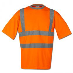 """THOMAS""  - High Vis T-Shirt - Orange Color - Safestyle - EN 471/2"