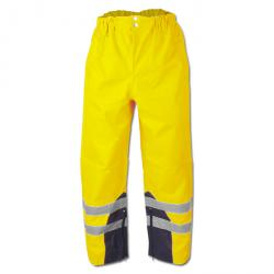"High-visibility trousers ""Renz"" - Oxford PU coated - color yellow - Safestyle EN"