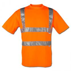 "Warning T-Shirt ""visibility"" - 82% Polyester / 18% Cotton - EN 471"