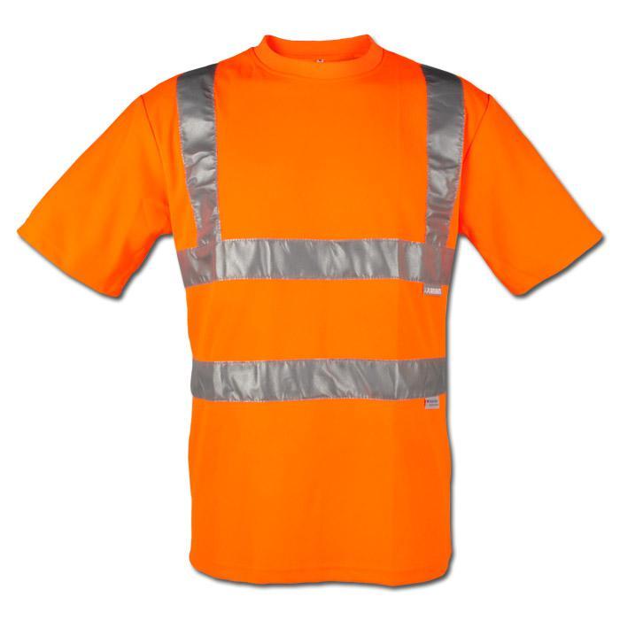 "Varning T-Shirt ""synlighet"" - 82% Polyester / 18% Bomull - EN 471"