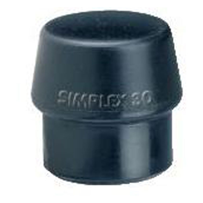 Schonhammerkopf SIMPLEX -Gummi - Kopf-Ø 30 bis 80mm - Halder