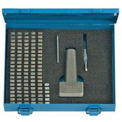 Typenhalter-Satz - Schrifthöhe 2 bis 5mm - 113 bis 115-teilig - Turnus