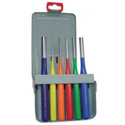 Splintentreibersatz 6-teilig Ø 3 bis 10mm - farblich gekennzeichnet - Rennstieg