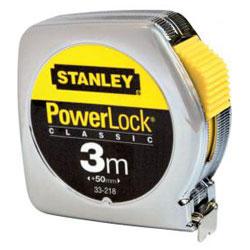 Roll måttband Power längd 2 och 3 m - Stanley