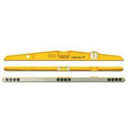 Vattenpass - längd 25 cm - med magneter - Stabila