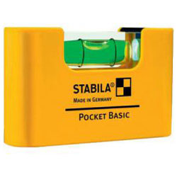Spirit Level Pocket Basic - längd 7cm - Stabila