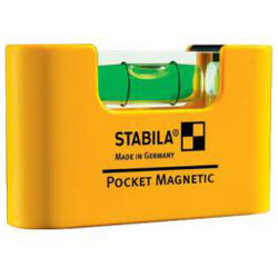 Magnet Spirit Level Pocket - längd 7cm - Stabila
