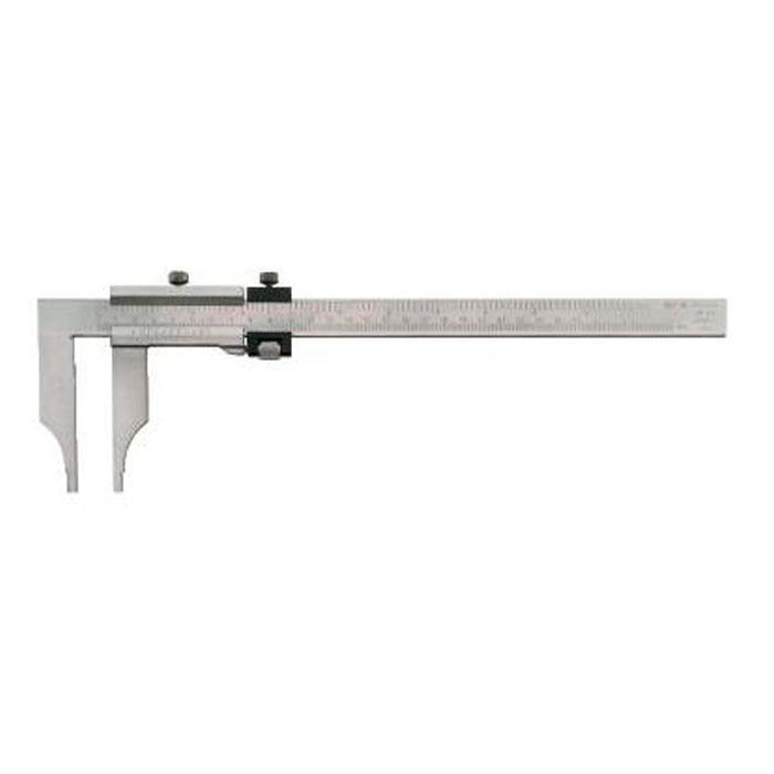 Werkstatt-Messschieber ohne Messerspitzen mit Feineinstellung