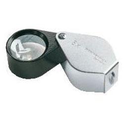 Präzisions-Einschlaglupe - 6 bis 15-fach Vergrößert - Linsen-Ø 10-23 mm