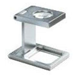 Precision pellava testaaja - 10x Suurentaa - 15x15 mm lovea