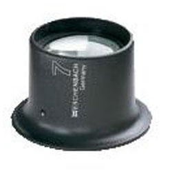 Watchmaker's loupe - lens plano - 52x40x42 mm
