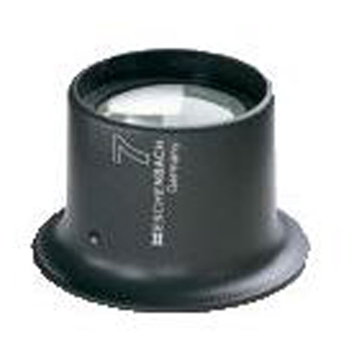 Uhrmacherlupe - Linse plankonvex - 52x40x42 mm
