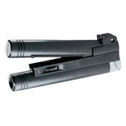 Micromagnifier - 30x Agrandit - noir mat - avec éclairage
