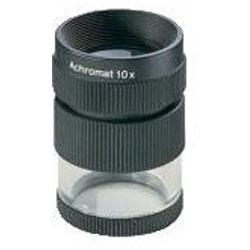 Précision loupe échelle - lentille Ø 23 mm - 7 ou un grossissement de 10x