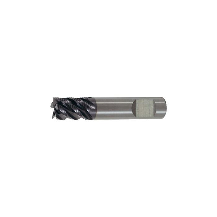 Schruppfr.,Ød1=h10:6-20mm,VHM TiAlN,Schaft:HB, HR, Für INOX-Bearbeitung
