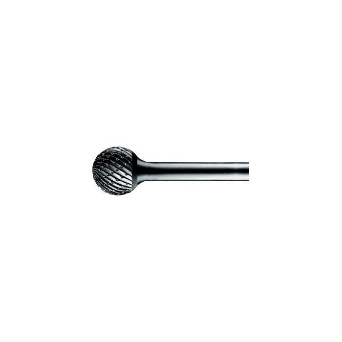 HM-Frässtift, Schaft:6mm, Zahnung:C, Kugelform: KUD, FORUM
