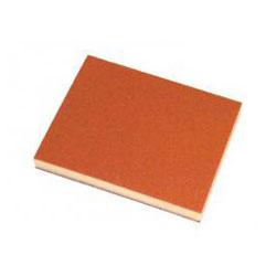 Slip matta, trä, plast slipning, fin, VE = 10 st., FORUM
