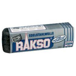 Edelstahlwolle-Bänder, 150 g, RAKSO, Werkstoff-Nr. 1.4113
