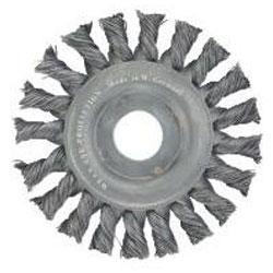 Rundbürste, Gezopfter Stahldraht, Bürsten-Ø:115/125/178 mm