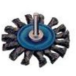 Rundbürste, Stahldraht, Gezopft, Bürsten-Ø:75 mm, FORUM