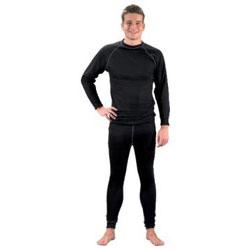 Restposten - Funktions Unterhose - Gr. M - schwarz - 100 % Polyester - atmungsaktiv - pflegeleicht - schnelltrocknend