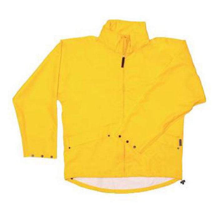 PU stretch rain jacket, yellow, Sizes: S-XXL, HELLY HANSEN