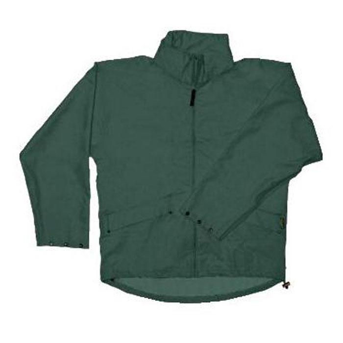 PU Stretch Rain Jacket - green - Sizes S-XXL - HELLY HANSEN