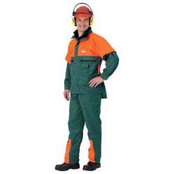Forstjacke mit Schnittschutzeinlage, Schutzklasse 1