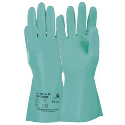 "Nitril-Handschuh ""Tricotril 736"" - Nitirl - grün - Kat. 3 - KCL"