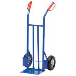 Stahlrohrkarre - Traglast: 150 kg - Schaufelmaß: 350 x 240 mm