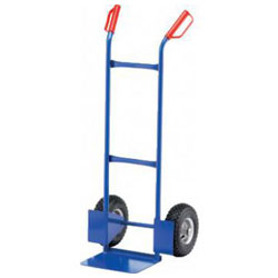 Tubular steel cart - Carrying capacity: 250 kg - shovel size: 320 x 240 mm