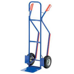 Steel cart - Carrying capacity: 250 kg - shovel size: 300 x 300 mm