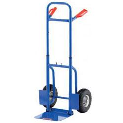 Tubular steel cart - Carrying capacity: 150 kg - space saving