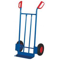 Tubular steel cart - Carrying capacity: 250 kg - shovel size: 400 x 150 mm