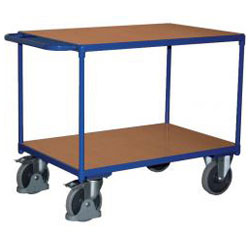 Table trolley - Carrying capacity: 500 kg - steel pipe