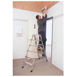 Stufen-Stehleiter Z300 - Arbeitshöhen: 0,65 bis zu 1,30 m - ZARGES