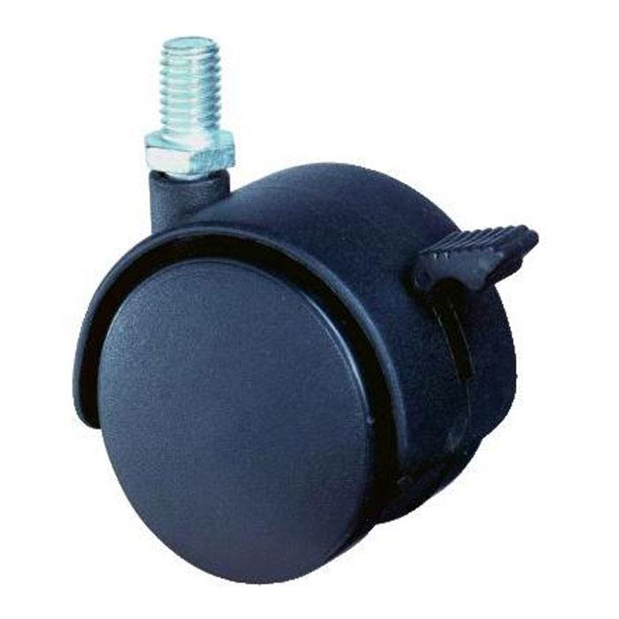 Möbelrolle Lenkrolle F85 - Kunststoff - mit Gewindestift - BS ROLLEN