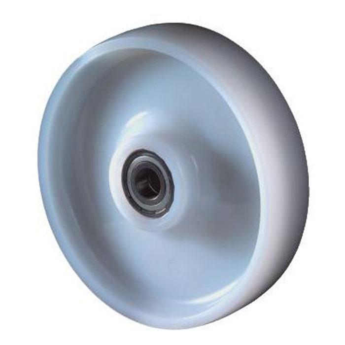 Kunststoffrad - Rollenlager - Rad-Ø 80 bis 200 mm - Tragkraft 100 bis 450 kg