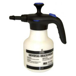 Universal pressure sprayer - content 1.5 liters - adjustable plastic - E-COLL