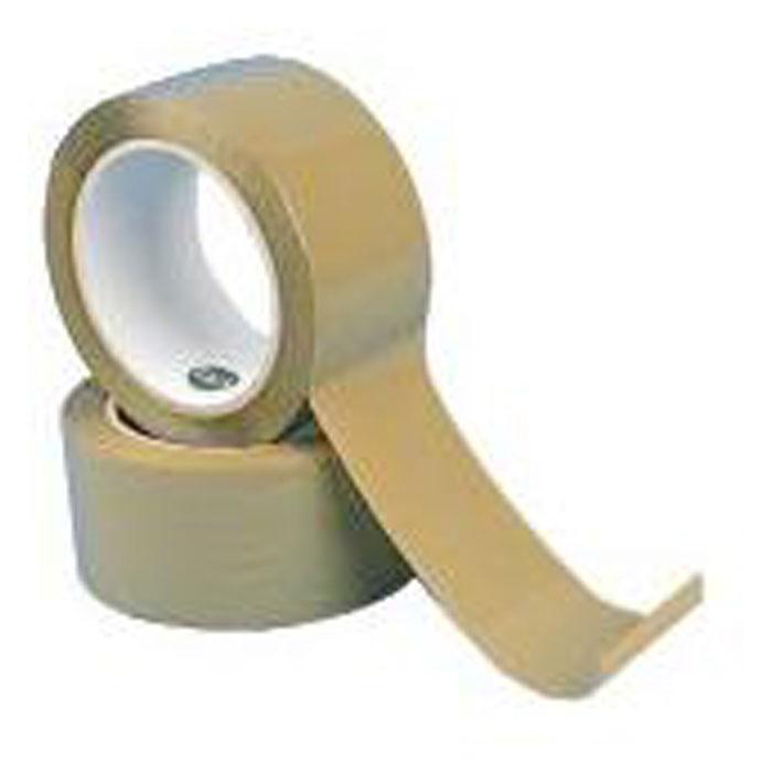 PP-Packband - 6 Rollen - Banddicke 0,06 mm - chamois/ farblos