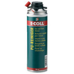 PU Gun och Rengöringsskum - 500 ml - E-COLL