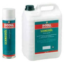 Skärolja / skärolja spray - 5 l / 0,4 l - E-COLL