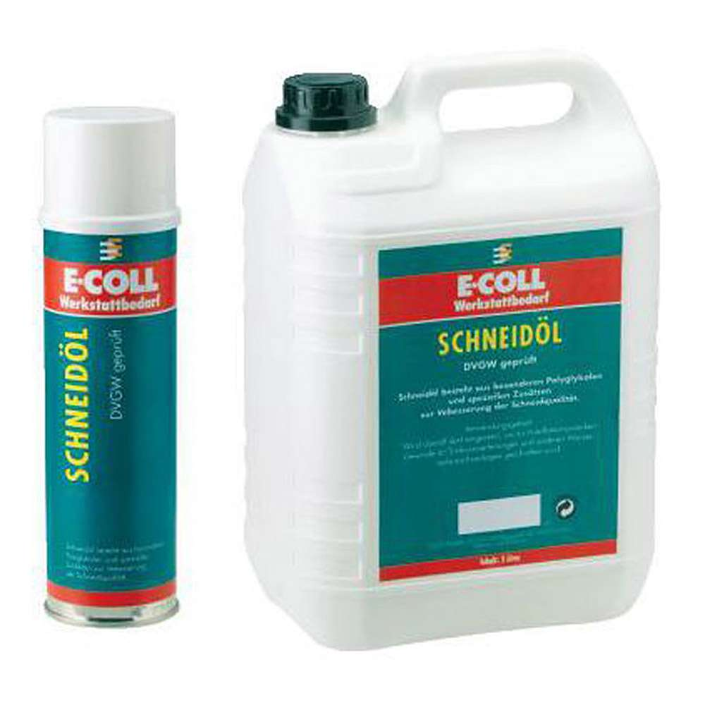Cutting oil / cutting oil spray - 5 l / 0.4 l - E-COLL