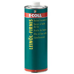 Leinöl-Firnis - 1 Liter - E-COLL