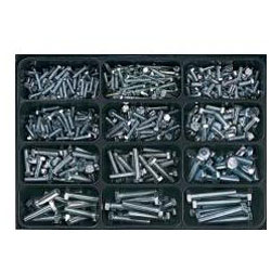 "Tool box - assortment ""# 25"". - About 620 screws - E-NORM"