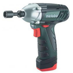 """Cordless Impact Wrench - """"PowerMaxx SSD"""" - including 2 batteries -. Metabo®"""