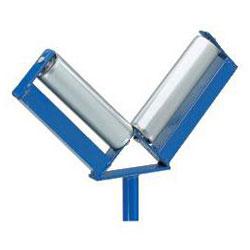 Rullande Stand - V-formad - bärförmåga 100 kg - BS ROLLS